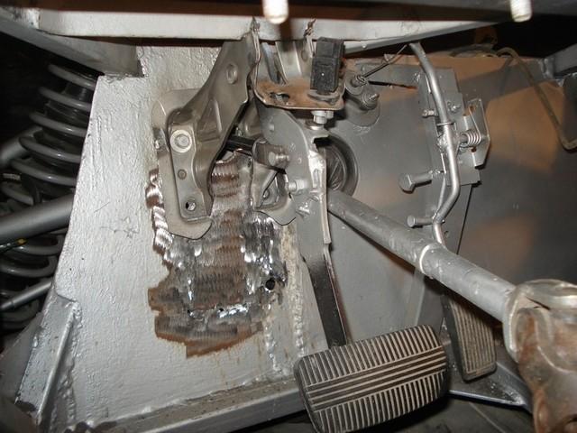 переделанный педальный узел