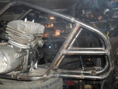 Передняя часть рамы - 2