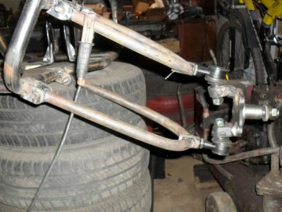 Передняя подвеска квадроцикла